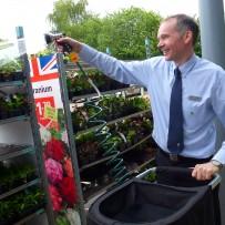 Supermarket watering