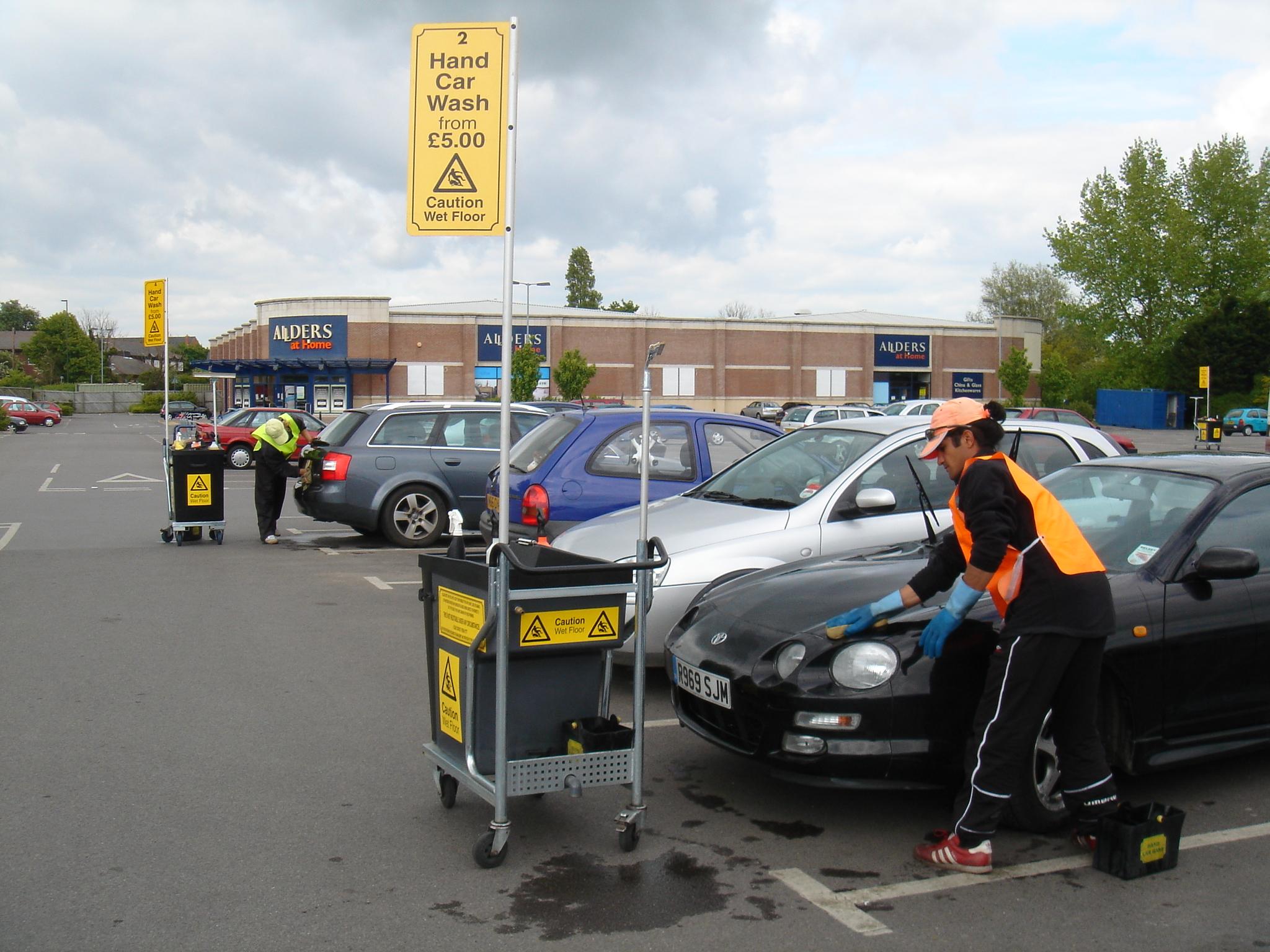 Car Wash Cart 2