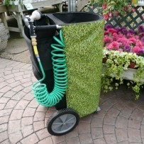 H2o2go carts for Portable watering tanks for gardens