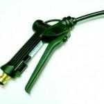 Water Gun - Ref GUN100 - £30.00  Black, Shockproof,  Stainless Steel internals